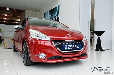 Peugeot Club Malaysia by Fabien in Les Peugeot 208 GTi dans le monde