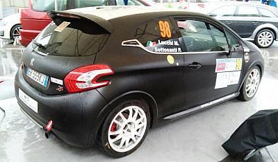 Peugeot 208 GTi en Rallye