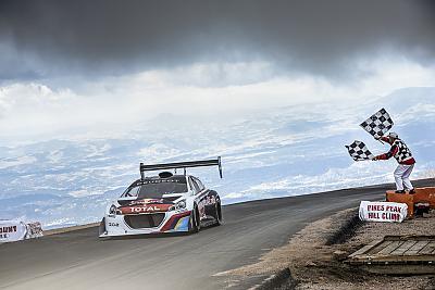 Peugeot 208 Pikes Peak
